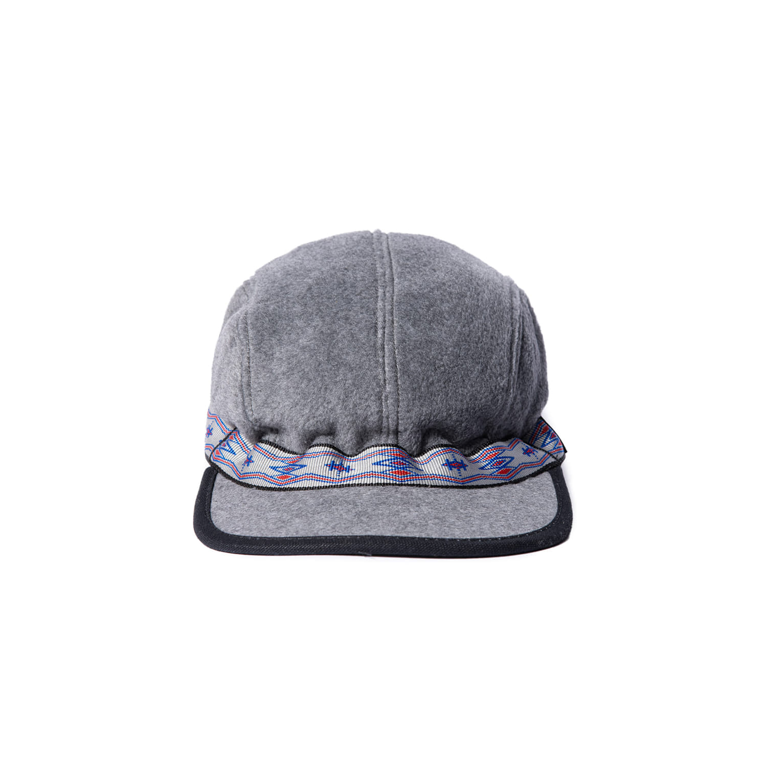 "Fleece Strap cap ""CHARCOAL HEATHER"""