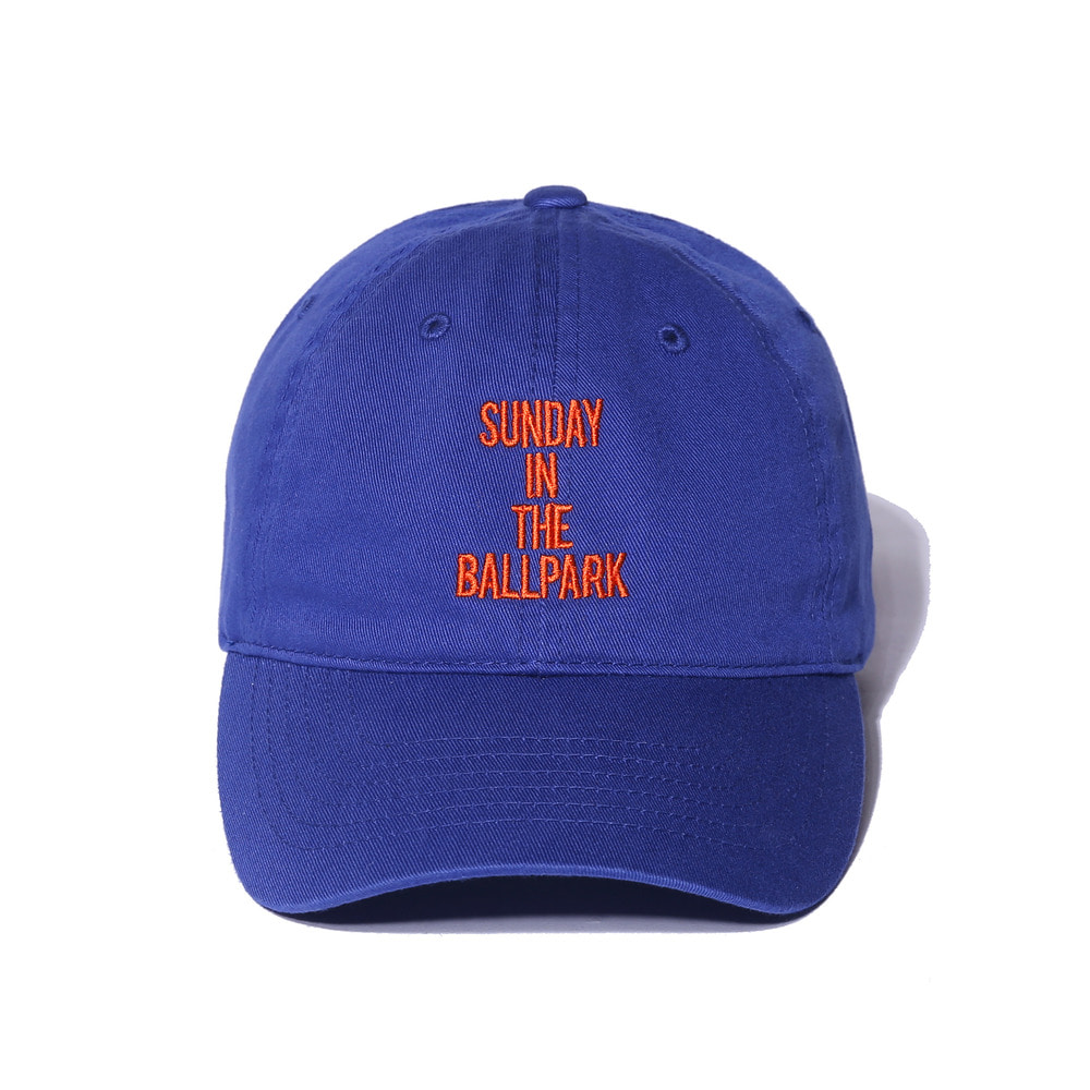 "Sunday Ballpark Cap ""BLUE"""
