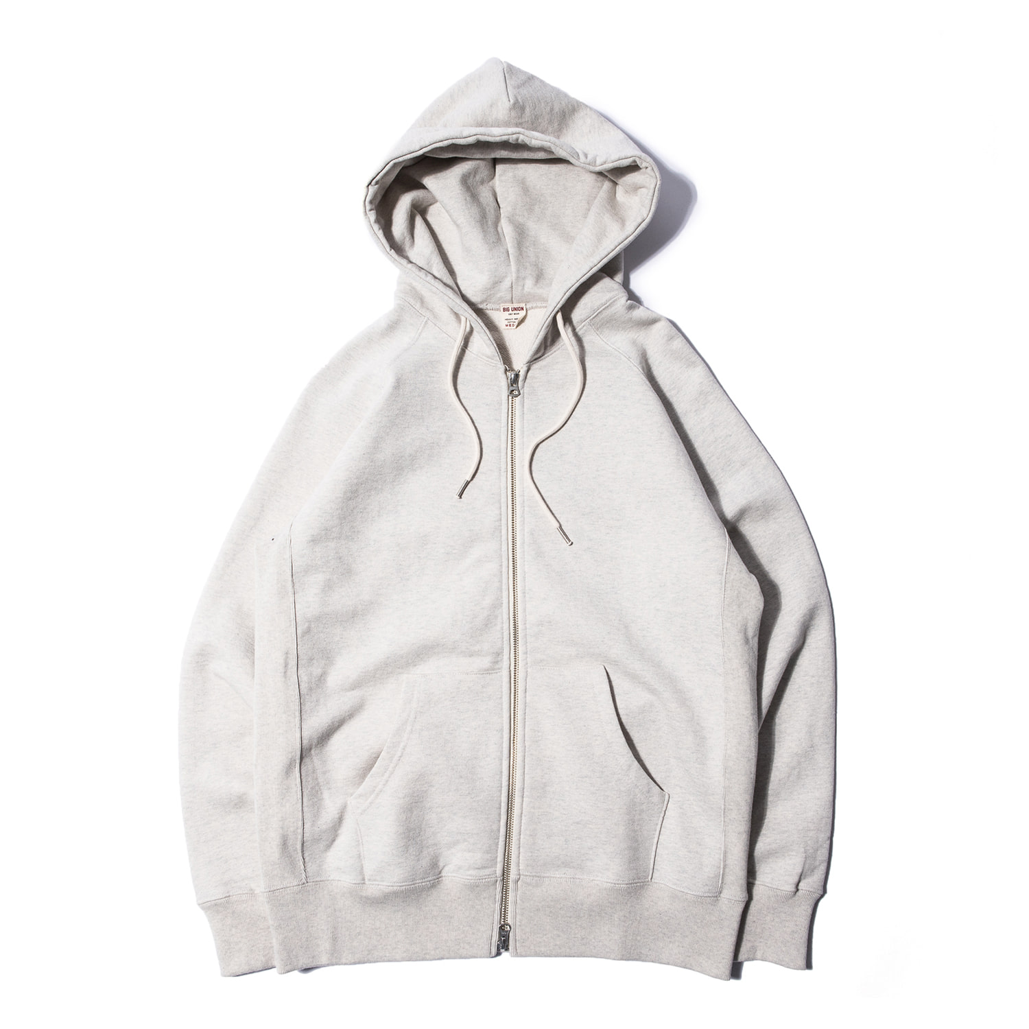 "89 Zip Up Hoody ""OATMEAL"""