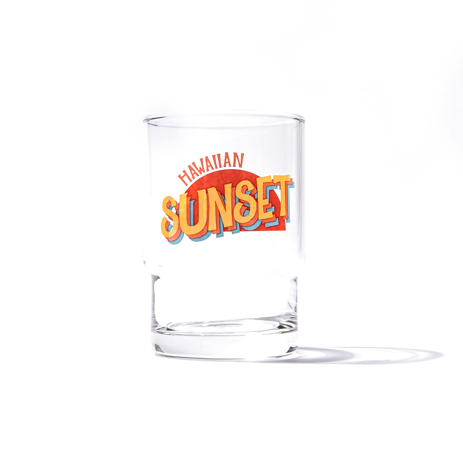 Hawaiian Sunset Glass Cup (245ml)