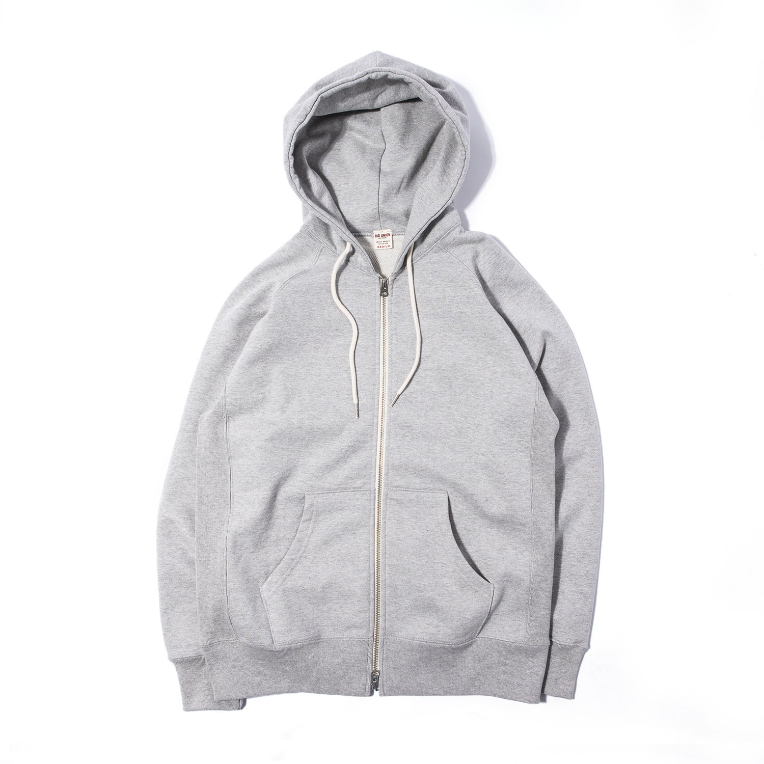 "89 Zip Up Hoody ""GRAY"""