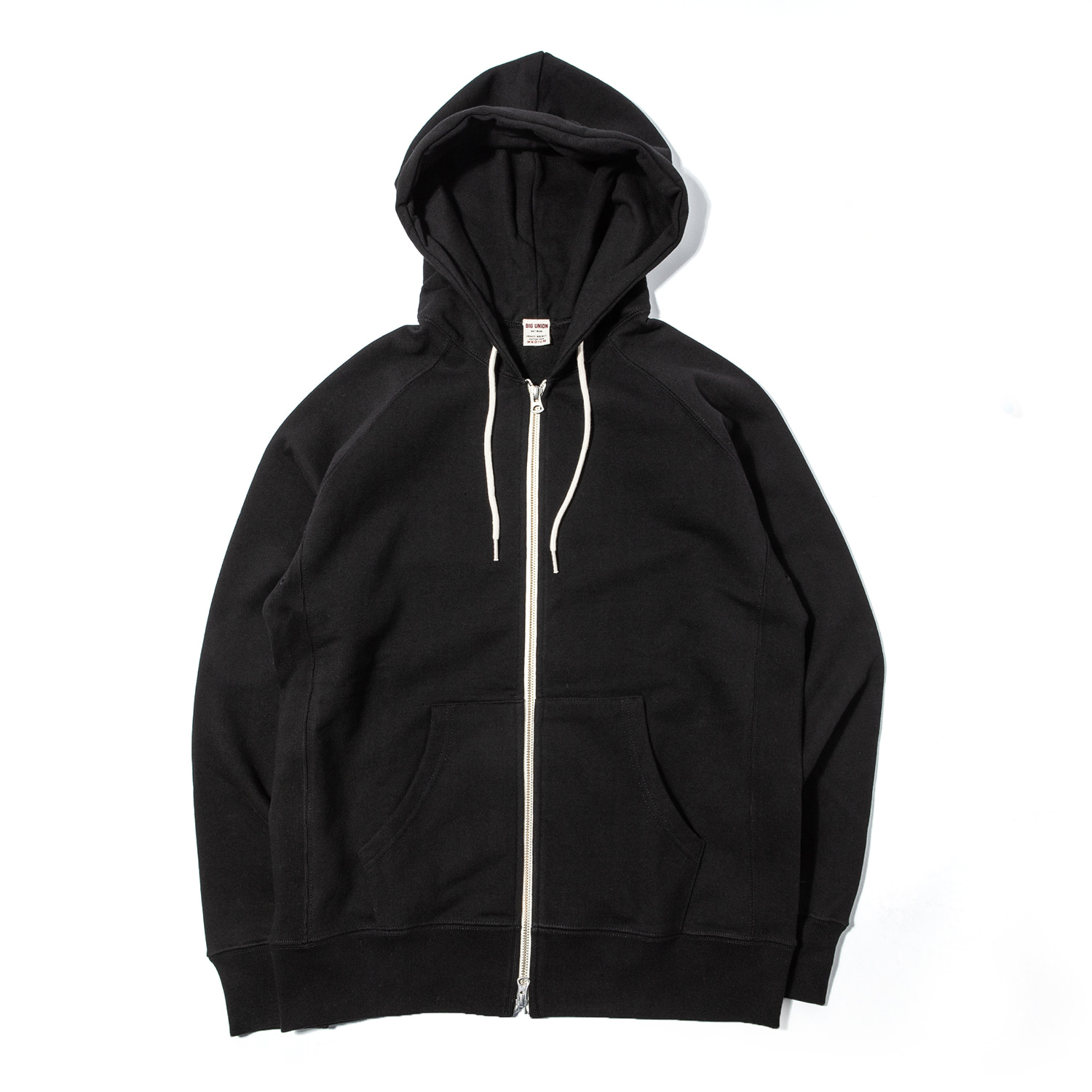 "89 Zip Up Hoody ""BLACK"""