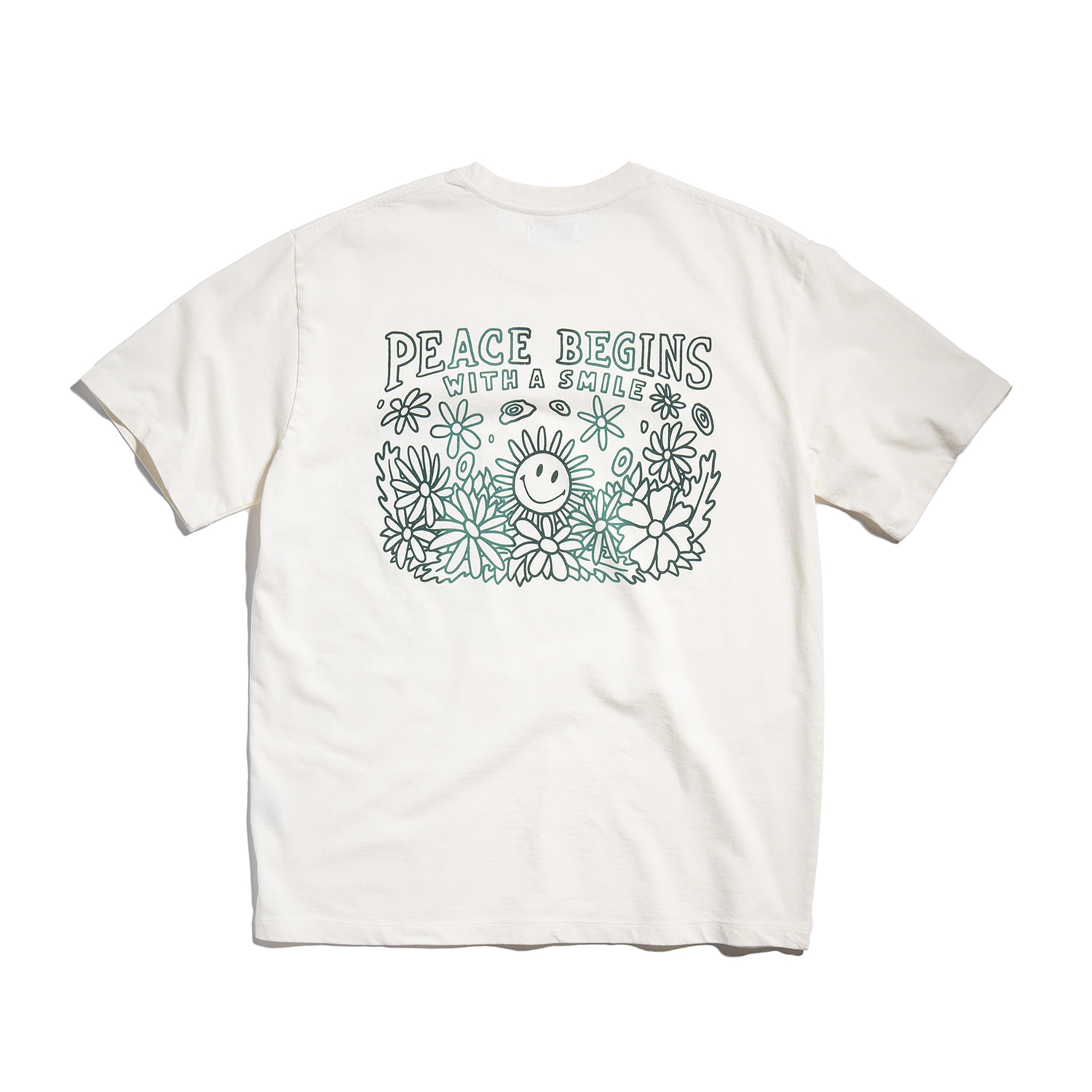 "[예약주문] Peace Begins Tee Part.2 ""OFF WHITE"""