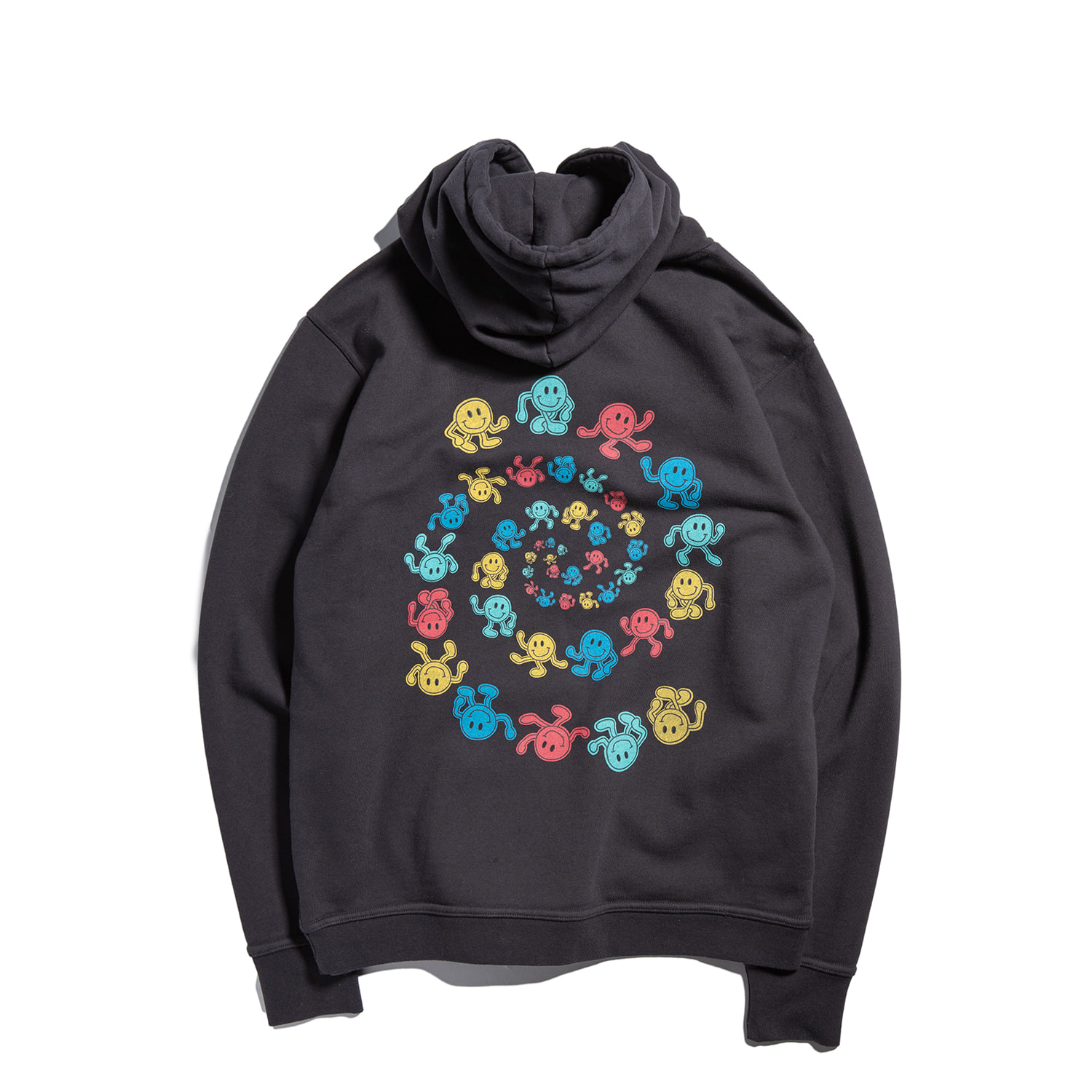 Dancing Smile Hoody High Ver. (OCEAN BLACK)