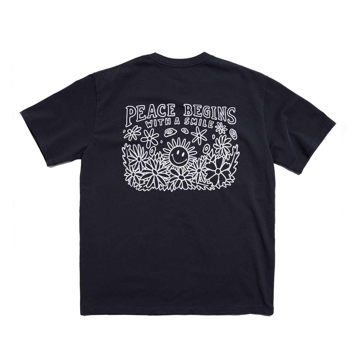 "Peace Begins Tee Part.2 ""OCEAN BLACK"""