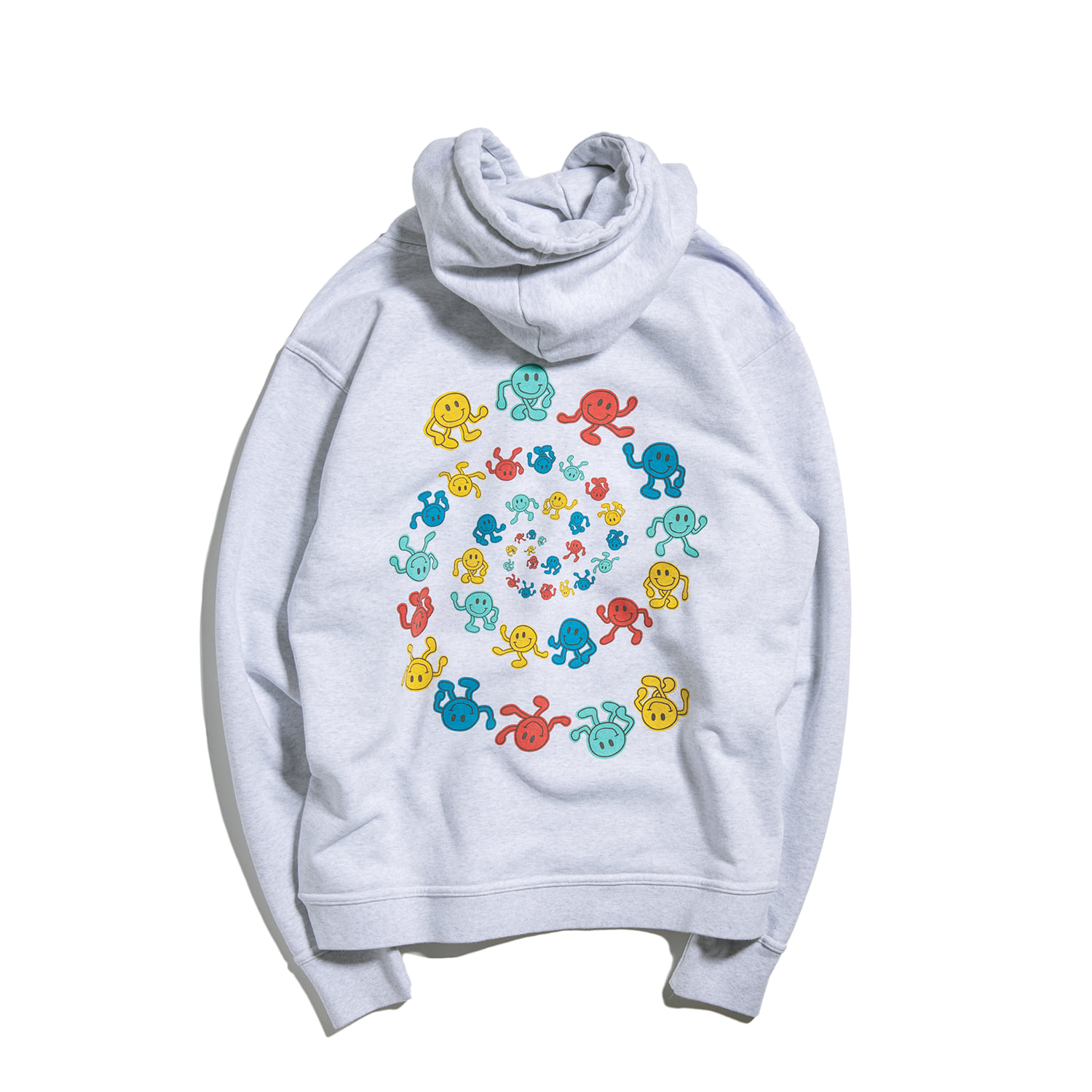 Dancing Smile Hoody High Ver. (1% MELANGE)