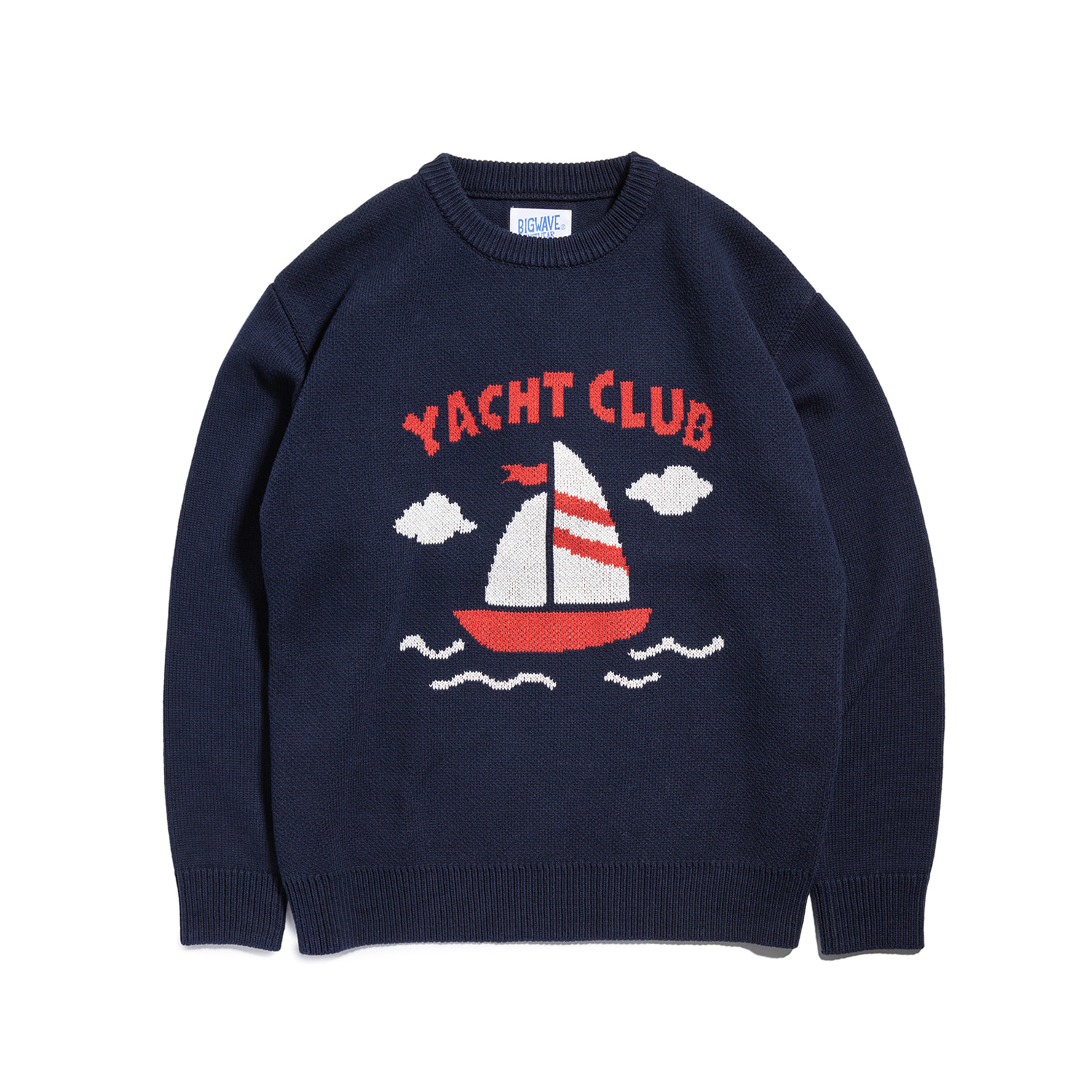 "Yacht Club Knit ""NAVY"""
