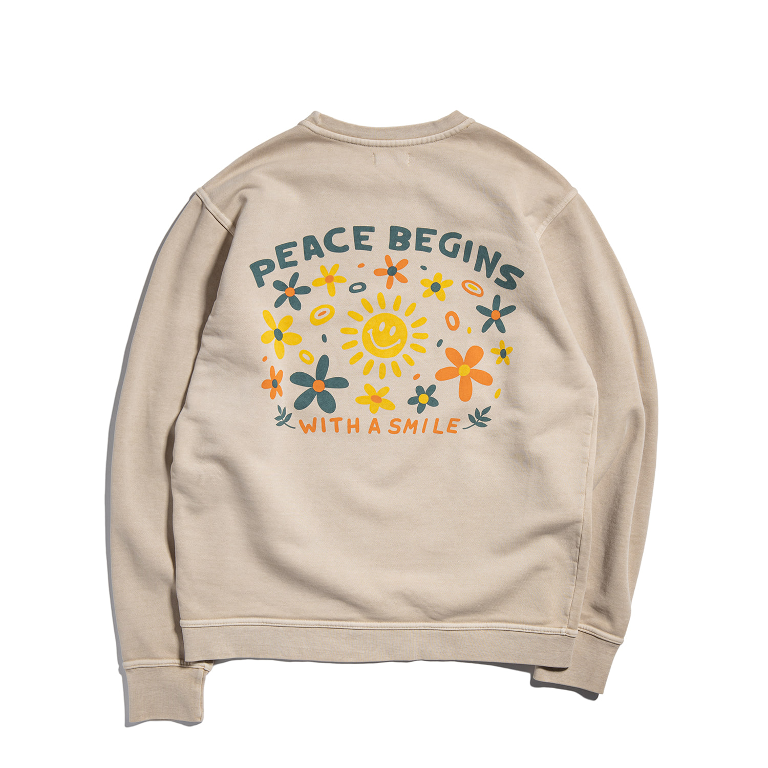 "[예약주문] Peace Begins Sweat Part.3 ""SAND BEIGE"""