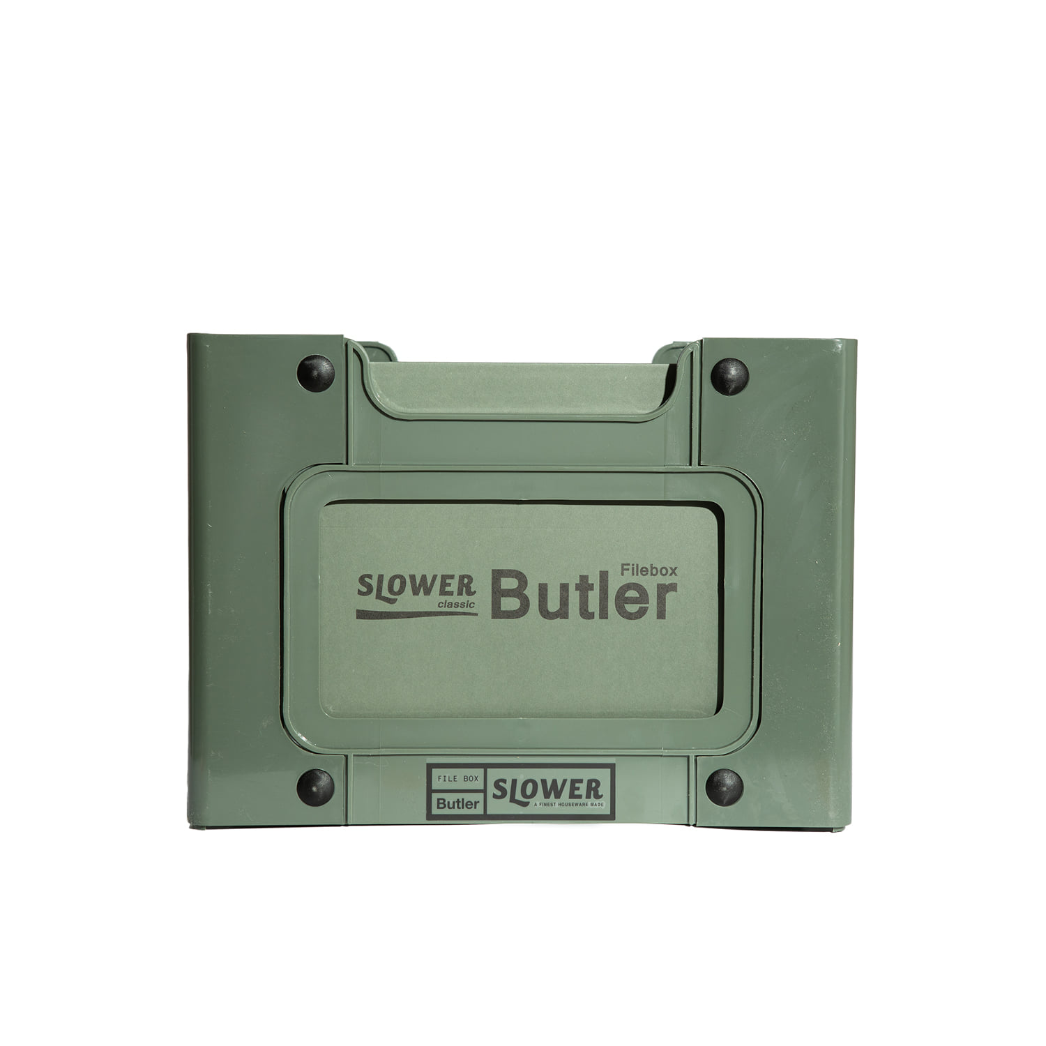 "File Box Butler ""OLIVE"""