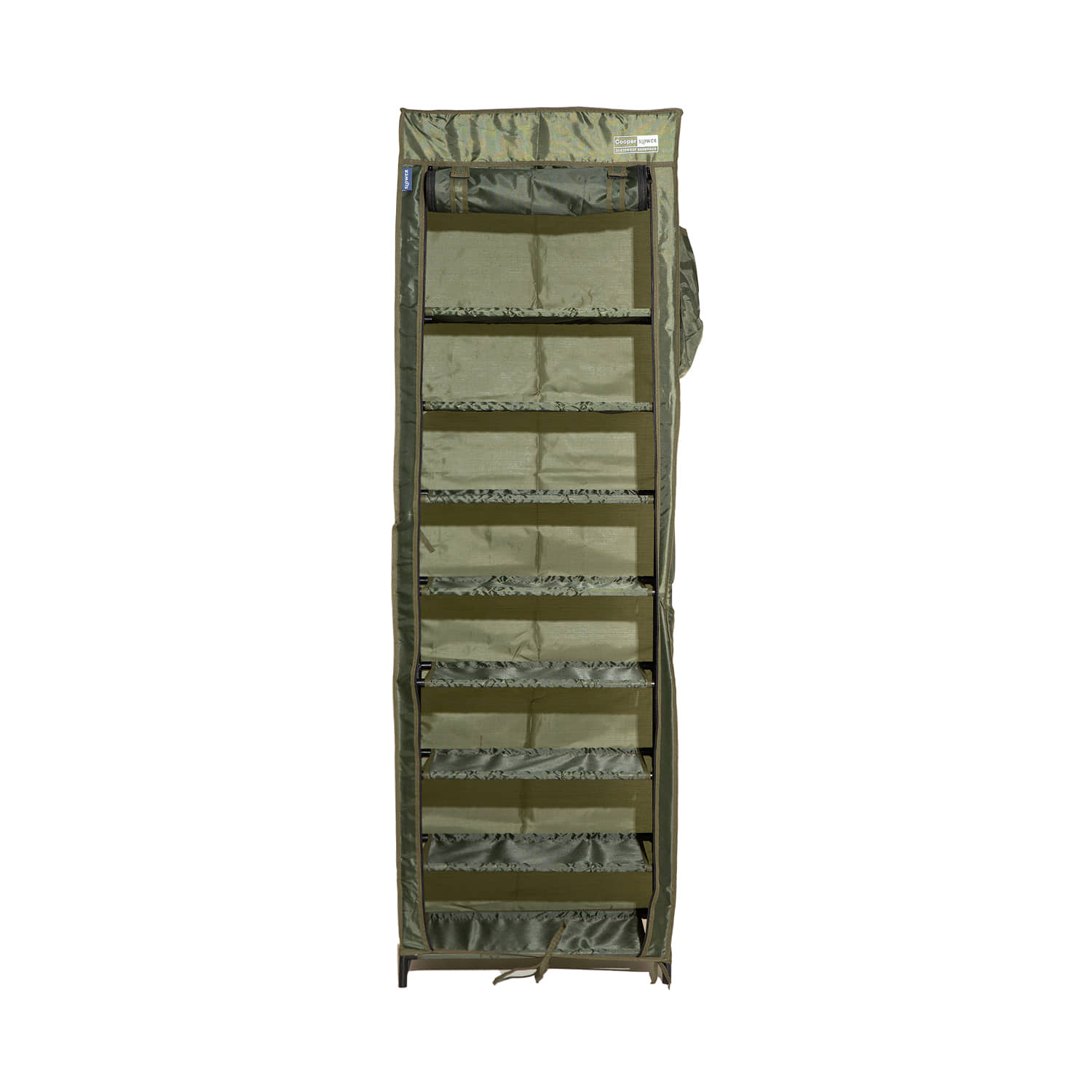"Dustproof Shoerack Cooper ""POLY-OLIVE"""