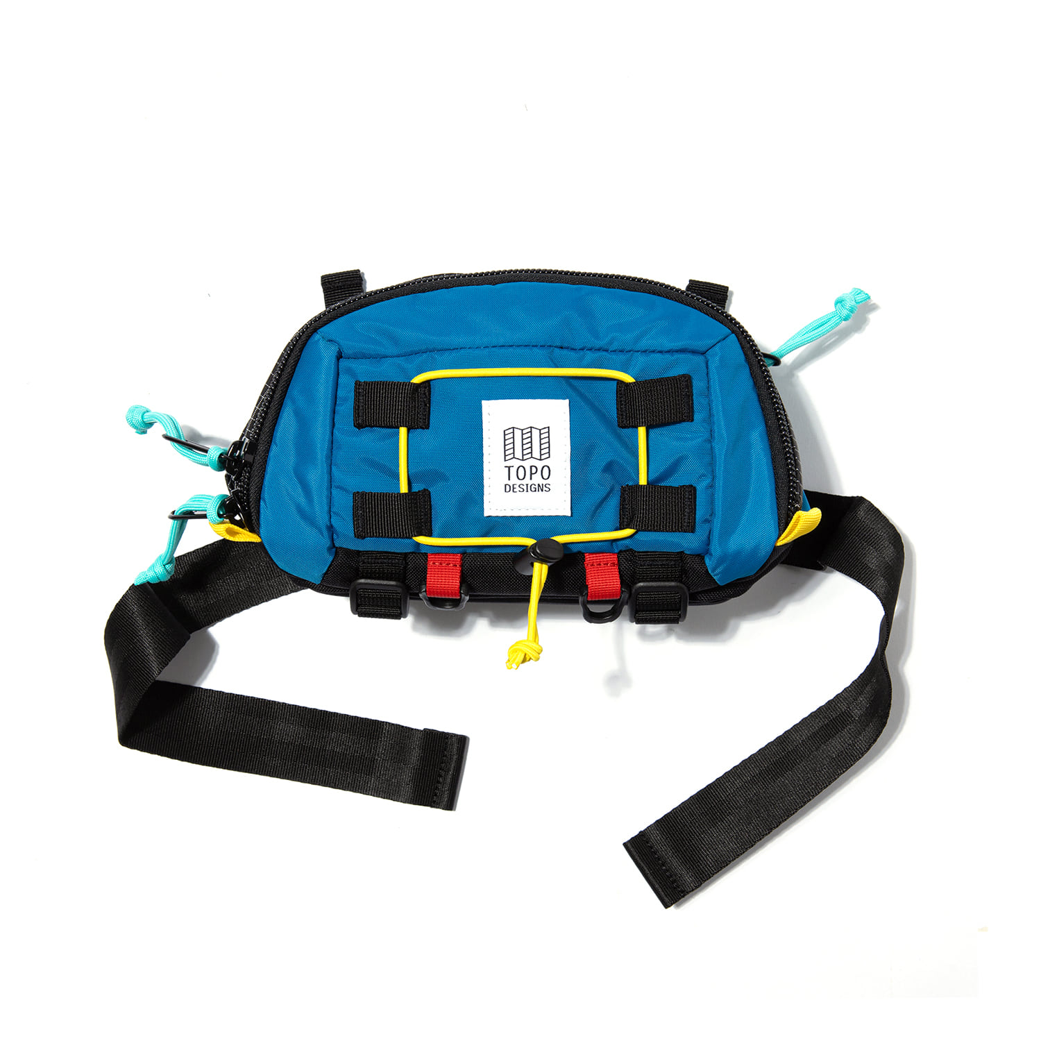 "Subalpine Hip Pack ""BLUE/BLACK RIPSTOP"""
