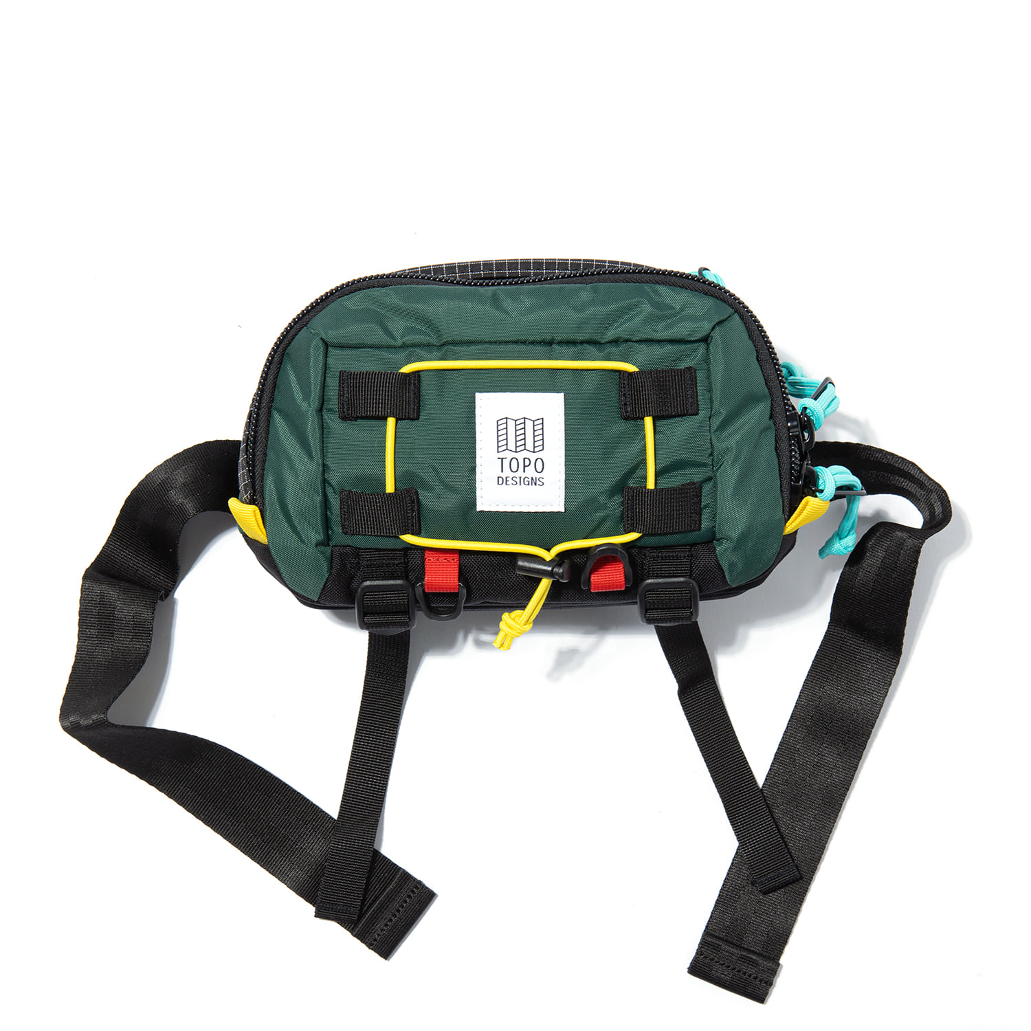 "Subalpine Hip Pack ""FOREST/BLACK RIPSTOP"""