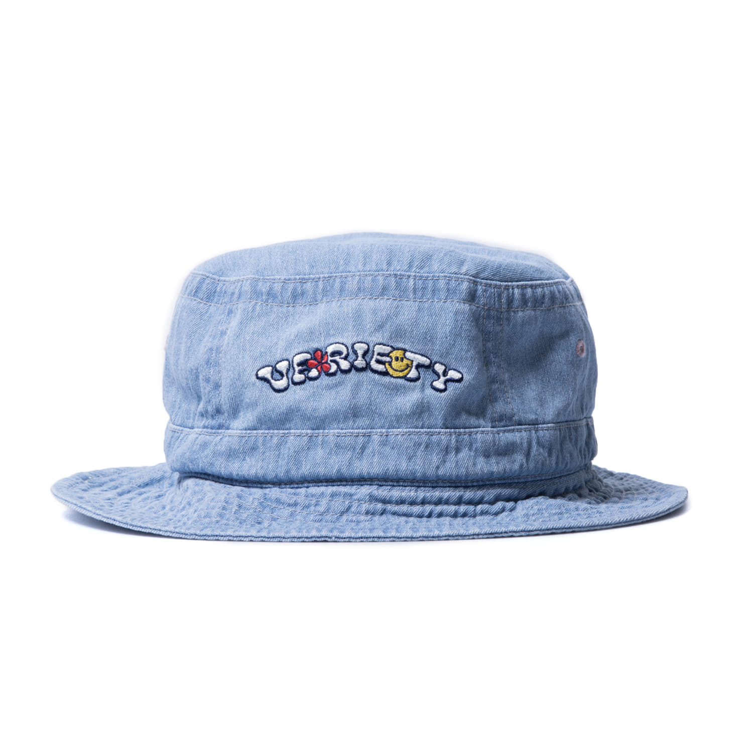 "Variety Bucket ""WASHED DENIM"""