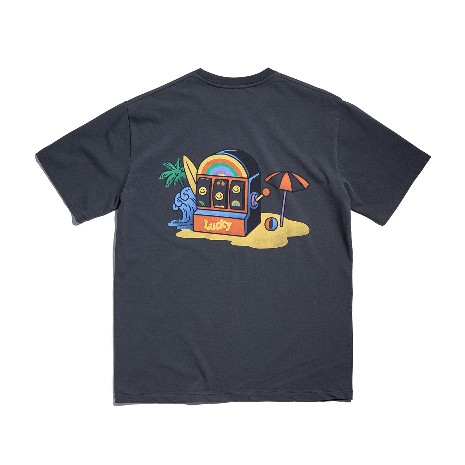 "Lucky Slot Tee ""OCEAN BLACK"""