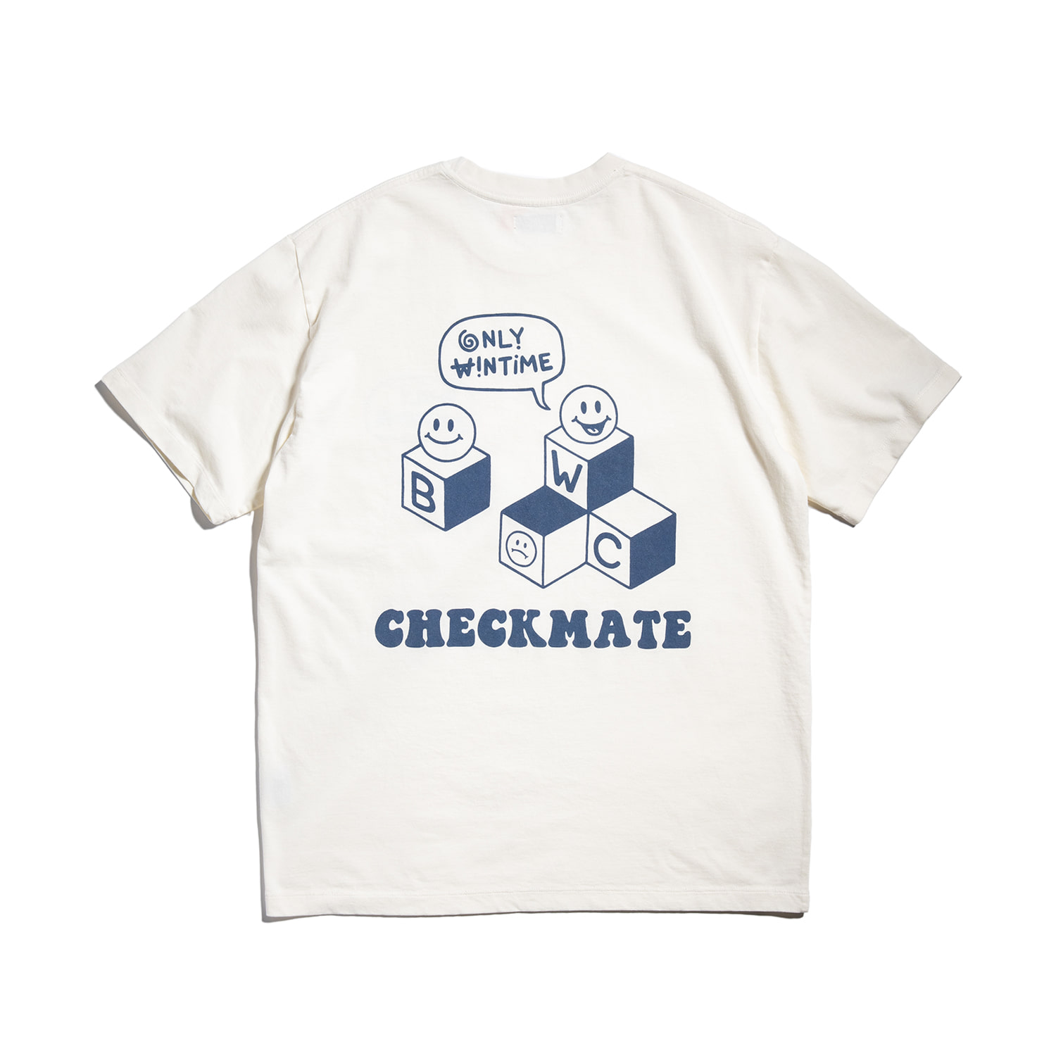 "[예약배송]Checkmate Tee ""WHITE DOVE"""