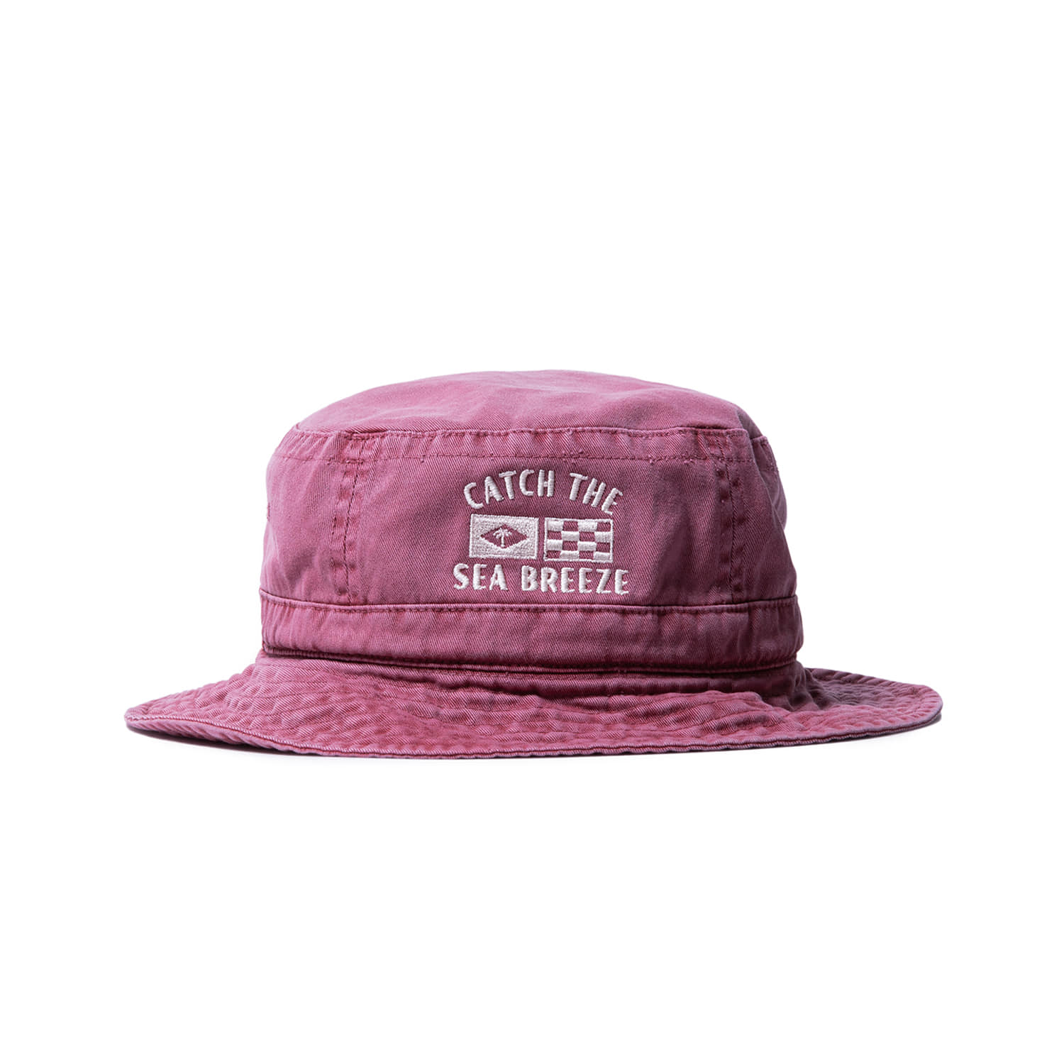 "Catch The Sea Breeze Bucket ""PIGMENT WINE"""