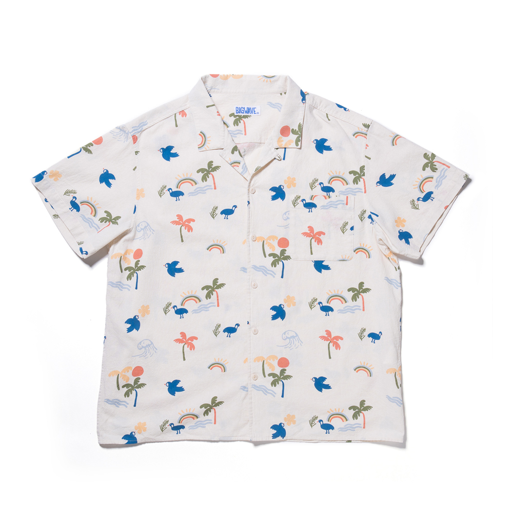"[M사이즈 예약주문] Aloha Friday Shirt ""IVORY"""
