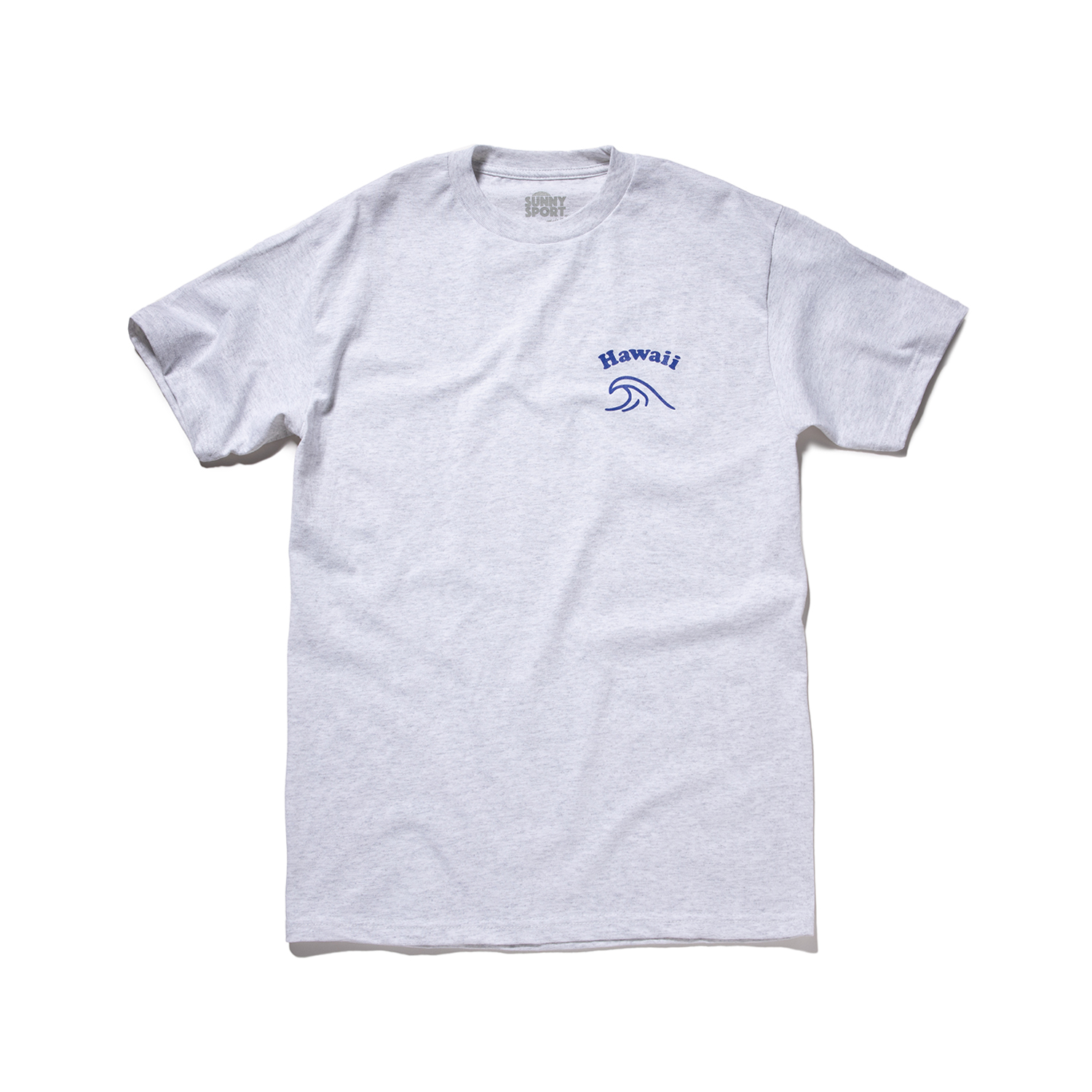 "Hawaii Wave Tee ""ASH GREY"""