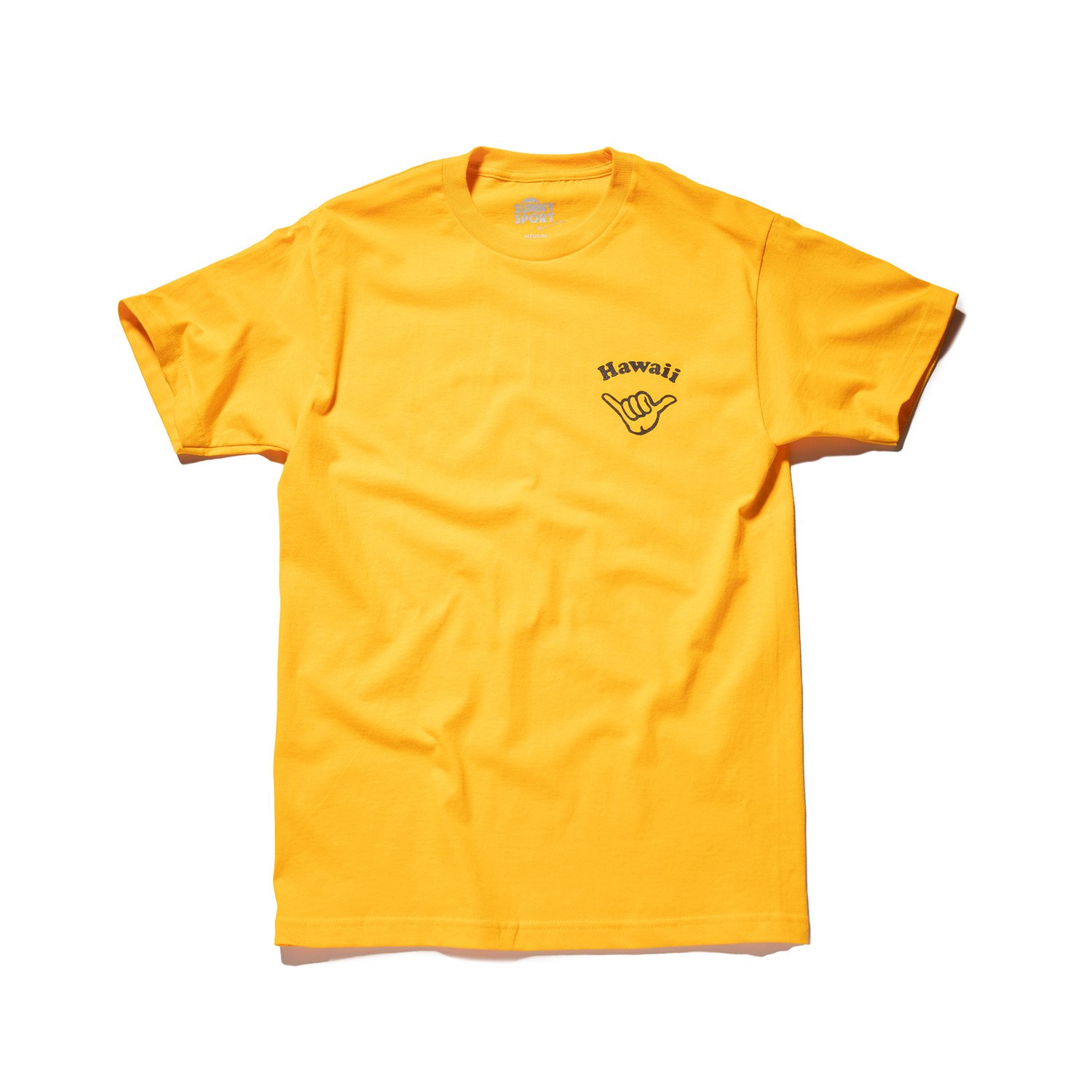 "Hawaii Shaka Tee ""GOLD"""