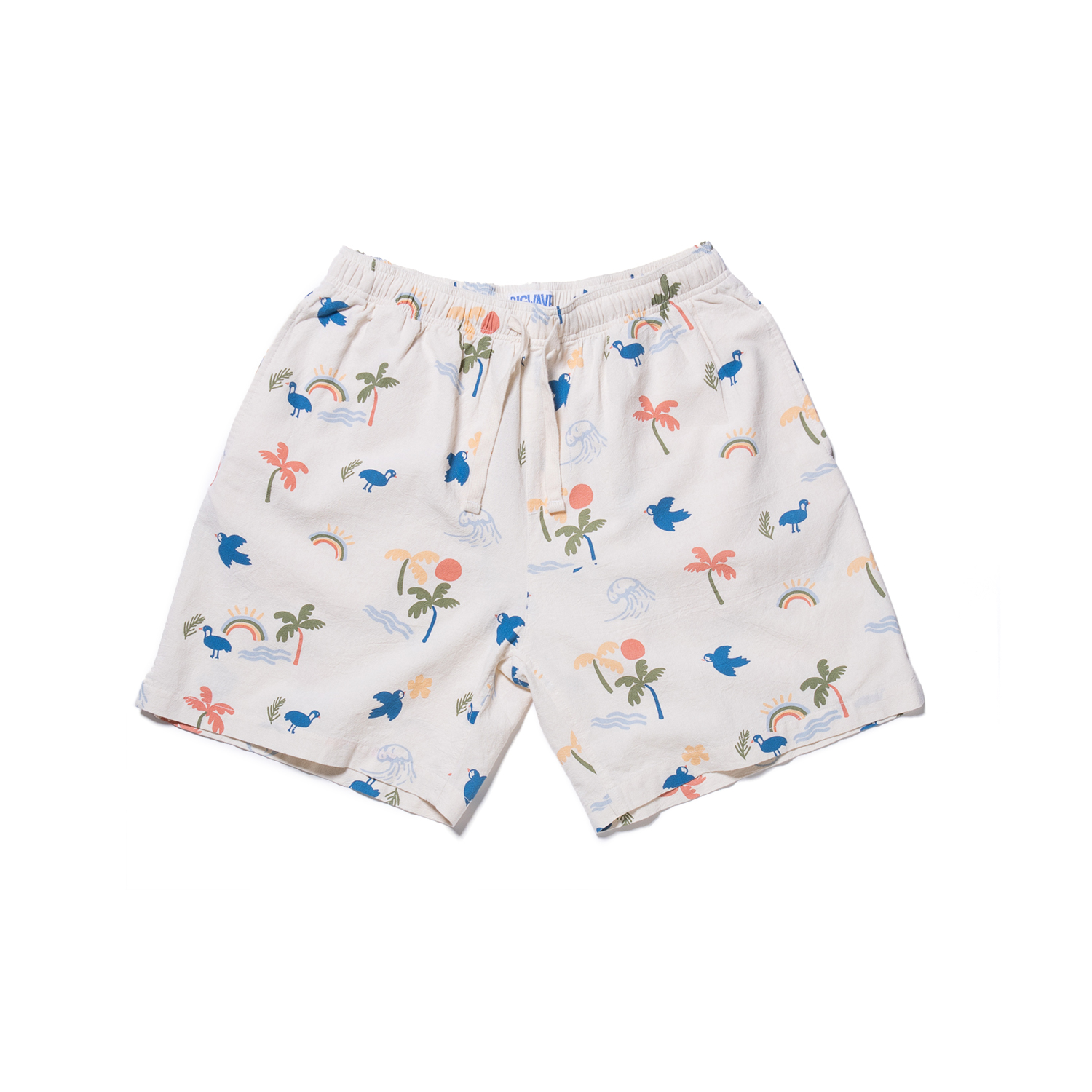 "Aloha Friday Shorts ""IVORY"""