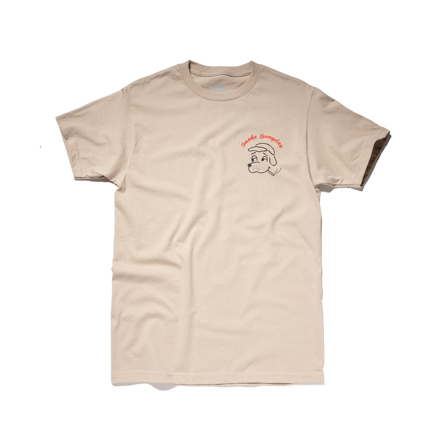 "Smoke Everyday Tee ""SAND"""